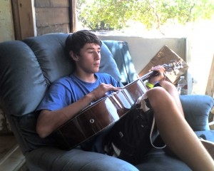 I love this Weekend I learned to strum.